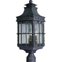 Nantucket 3-Light Outdoor Pole/Post Lantern