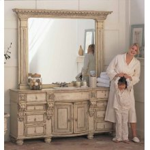 """Stafford Vanity with (2) 21"""" Drawers"""