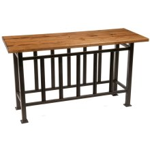 Base Only Mission Console Table