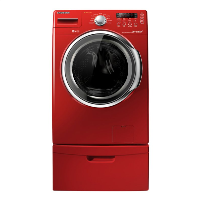 High Efficiency Vrt Steam Front Load Washer Tango Red