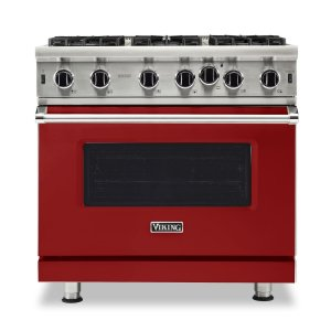 "Viking36"" Open Burner Gas Range - VGIC5362 Viking Professional Product Line"