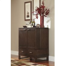 Dining Room Server Watson - Dark Brown Collection Ashley at Aztec Distribution Center Houston Texas