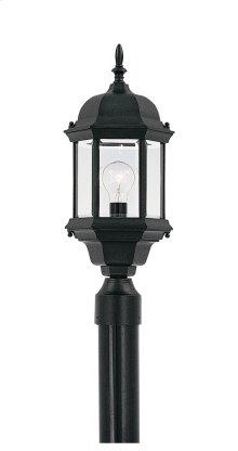 """8"""" Post Lantern in Black"""