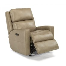 Catalina Leather Power Recliner with Power Headrest