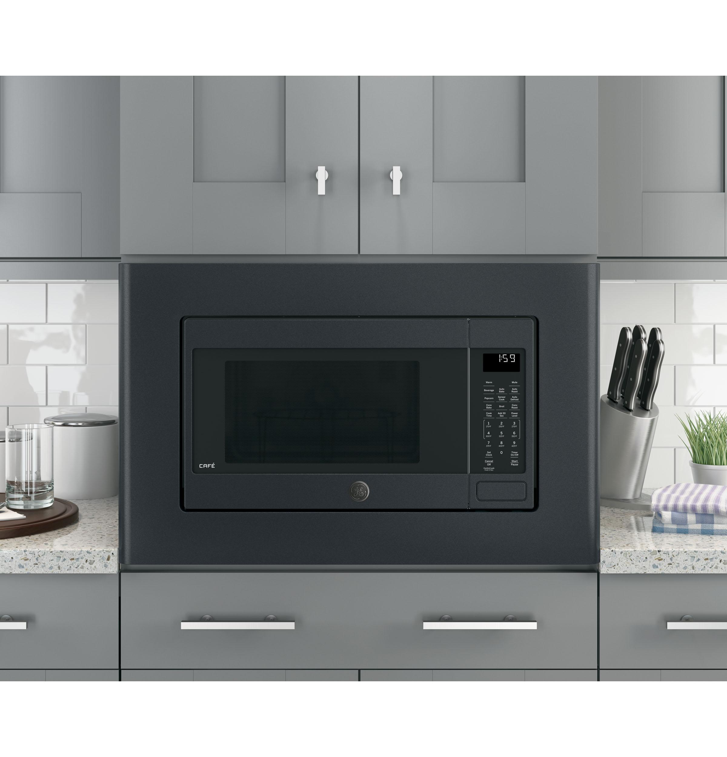 stainless microwave convection ge p cu ovens countertops ft countertop microwaves profile in steel