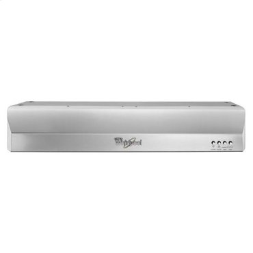 Gold® 30-inch Vented 300-CFM Under-Cabinet Hood - stainless steel