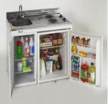 "Model CK36 - 36"" Compact Kitchen w/refrig"