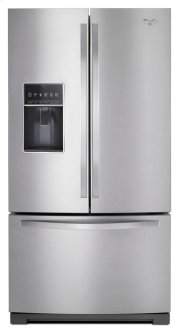 36-inch Wide French Door Bottom Freezer Refrigerator with Dual Icemakers - 27 cu. ft. Product Image