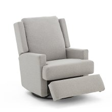 AINSLEY Swivel Glider Recliner with Inside Handle