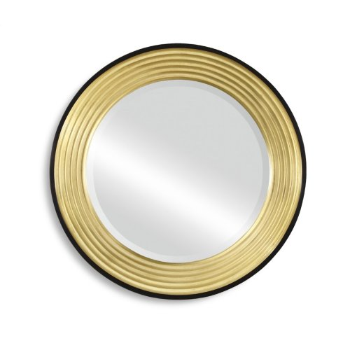 Contemporary Circular Recessed Mirror