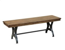The District Collection's Wood Dining Bench