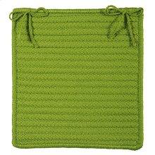 "Simply Home Chair Pad H271 Bright Green 15"" X 15"" (Set 4)"