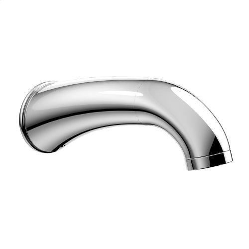 Silas Wall Spout - Polished Chrome Finish