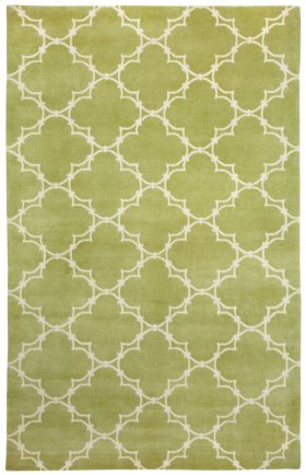 Quatrefoil Apple Ivory
