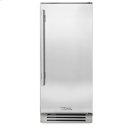 15 Inch Stainless Solid Door Clear Ice Machine - Left Hinge Stainless Solid Product Image