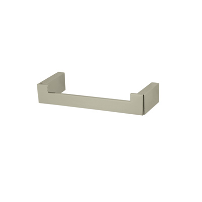 Satin Nickel Wave Swing Arm Toilet Paper Holder With Lift Arm
