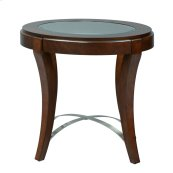 Oval End Table