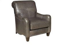 Glenda Leather Chair, Glenda Ottoman