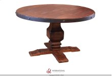 Wooden Base for Table - Brown Color - KD System