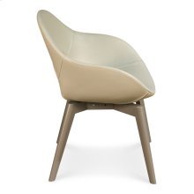 Contemporary Chair,Varentone Grey, Rain