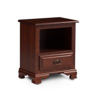 Classic Nightstand with Opening Product Image