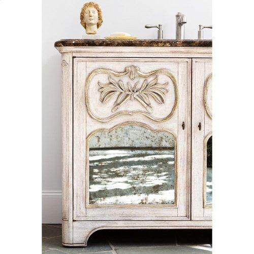 Laurel Sink Chest - White