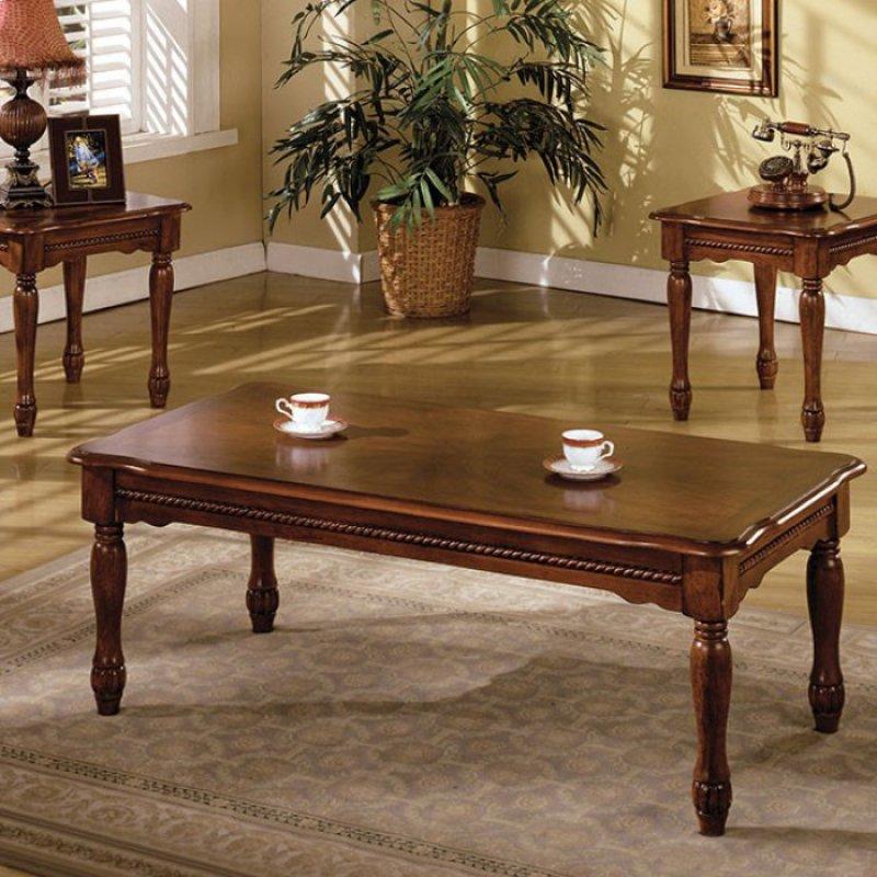 San Carlos 3 Pc Table Set