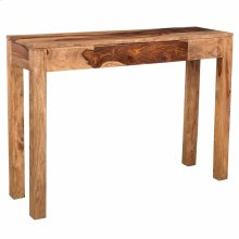Idris Console Table in Dark Sheesham