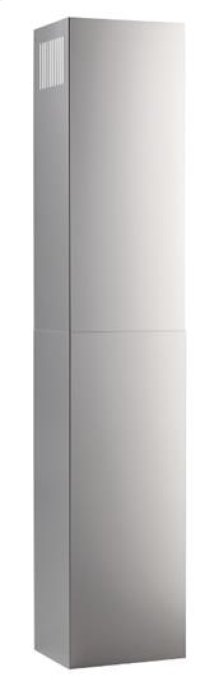 Optional Flue Extension for EW58 Broan Elite Range Hoods in Stainless Steel