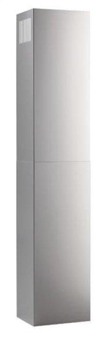 Optional Flue Extension for EW58 Broan Elite Range Hoods in Stainless Steel