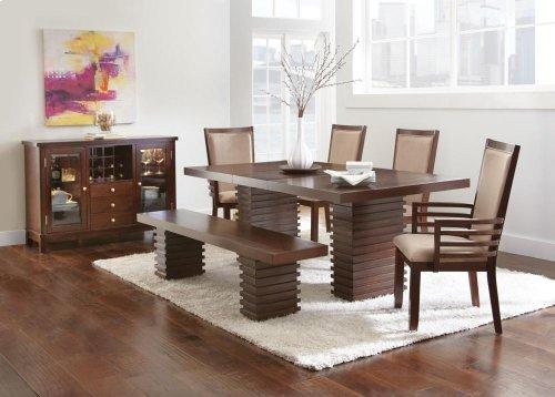 """Briana Arm Chair, Camel 23""""x25""""x41"""""""