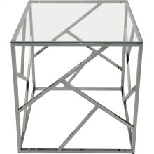 Giada Accent Table in Chrome