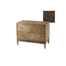 Thaxton Nightstand, Dark Echo Oak