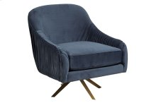 Eloise Blue Swivel Accent Chair, AC893