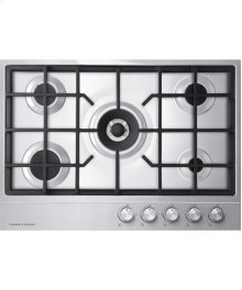 "Gas on Steel Cooktop, 30"" 5 Burner"