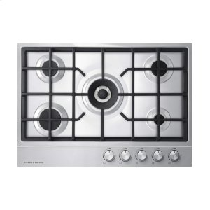 "Fisher & PaykelGas On Steel Cooktop, 30"" 5 Burner (Lpg)"