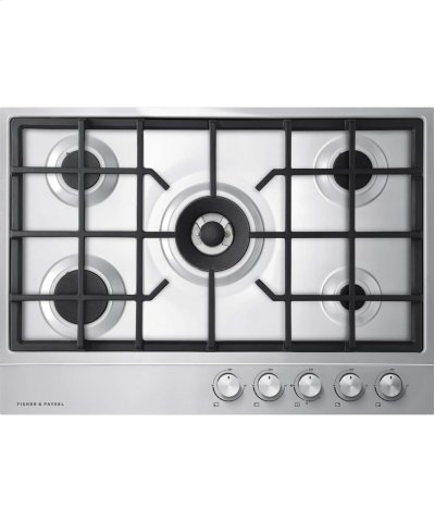 "Gas on Steel Cooktop, 30"" 5 Burner Product Image"