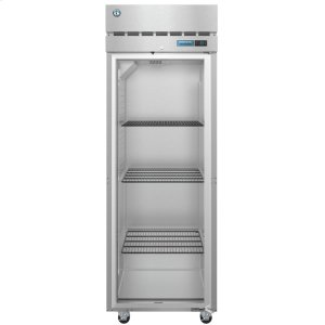 HoshizakiF1A-FG, Freezer, Single Section Upright, Full Glass Door with Lock