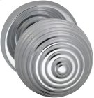 Interior Modern Knob Latchset in (US26 Polished Chrome Plated) Product Image