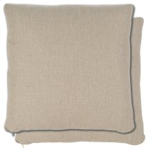 Accessories 21 Pair Sq. TopStitched No Pleats Pillows