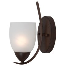 Mirror Lake Collection One Light Incandescent