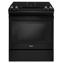 5.0 cu. ft. Front Control Gas Range with Cast-Iron Grates