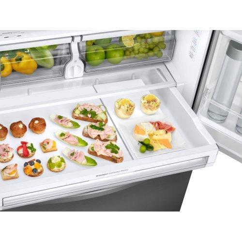 28 cu. ft. 3-Door French Door, Full Depth Refrigerator with CoolSelect Pantry in Stainless Steel