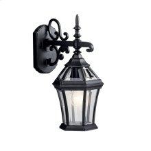 "Townhouse 15.25"" 1 Light Wall Light Black"