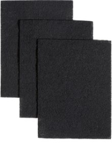 "Replacement Charcoal Filters, 7-3/4"" x 10-1/2"""