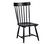 Jo's Black Spindle Back Chair