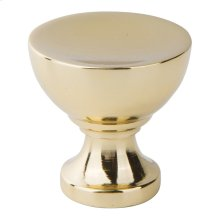 Shelley Round Knob 1 1/4 Inch - French Gold