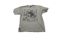 Military Green T-shirt w/ Black RF graphic-M