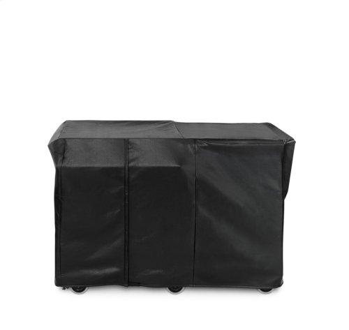 Asado Grill (L30AG-M) or Serve Counter (LSERVE-M) Carbon Vinyl Cover (Mobile Kitchen Cart)