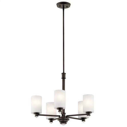 Joelson 5 Light Chandelier with LED Bulbs Olde Bronze®